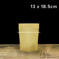 ถุงคราฟท์น้ำตาล ทึบ ตั้งได้ 13 x 18.5cm