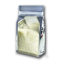 Foil Square Bottom Ziplock Pouch Bag