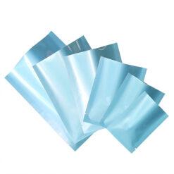 ซองซีล3ด้าน ซองซีล เนื้อเงา สีฟ้า