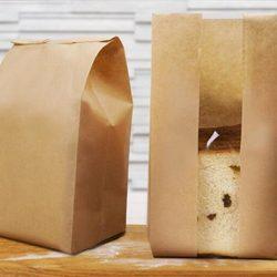 ถุงกระดาษคราฟท์สำหรับใส่ขนมปัง