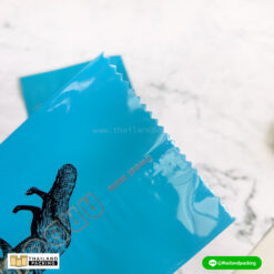 ถุงคุกกี้ ซีลกลาง สีฟ้า (คละลาย)