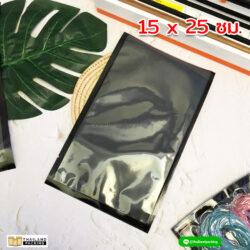 ถุงสูญญากาศ ลายนูน สีดำ BVC-NET-1525-NS (SP)