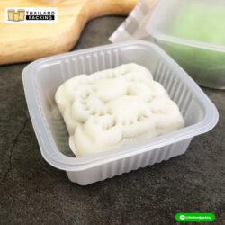 ถาดใส่ขนม เนื้อขาวขุ่น
