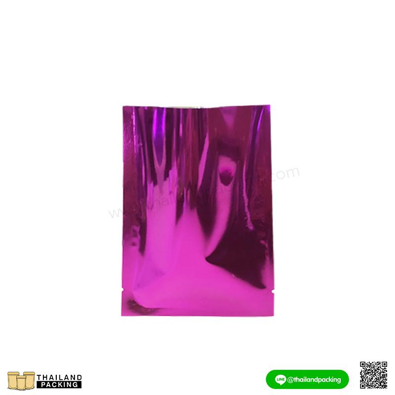 ซองซีล3ด้าน อลูมิไนซ์ สีม่วง