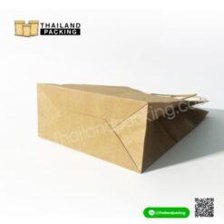 ถุงกระดาษ ถุงกระดาษคราฟท์ ถุงกระดาษหูหิ้ว สีน้ำตาล